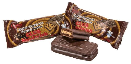 Triple Chocolate Peanut Butter Club